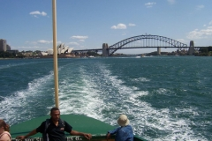 Cruising on Sydney Harbour - Fri